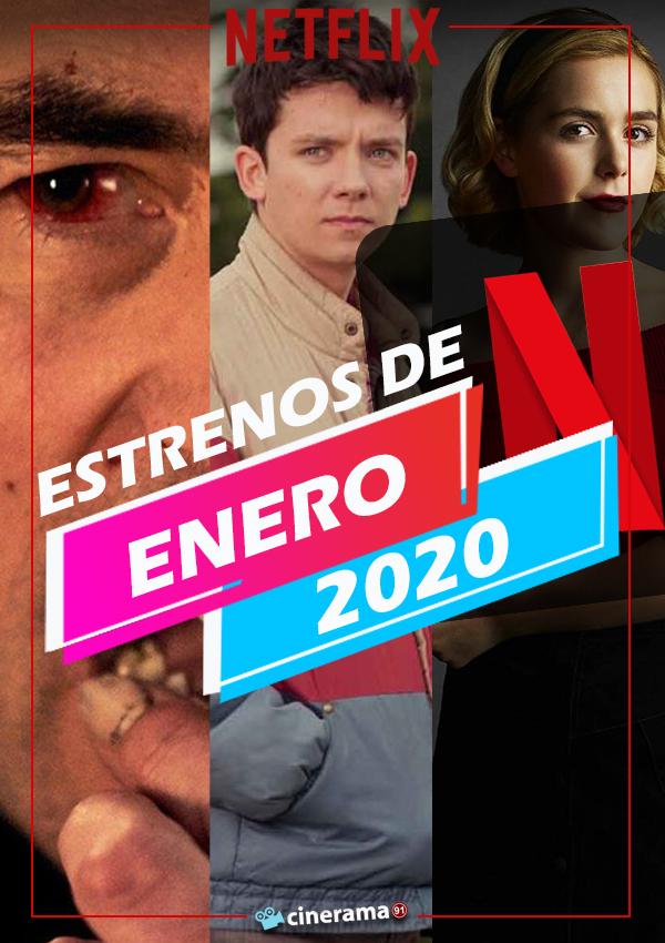Estrenos de Netflix enero 2020