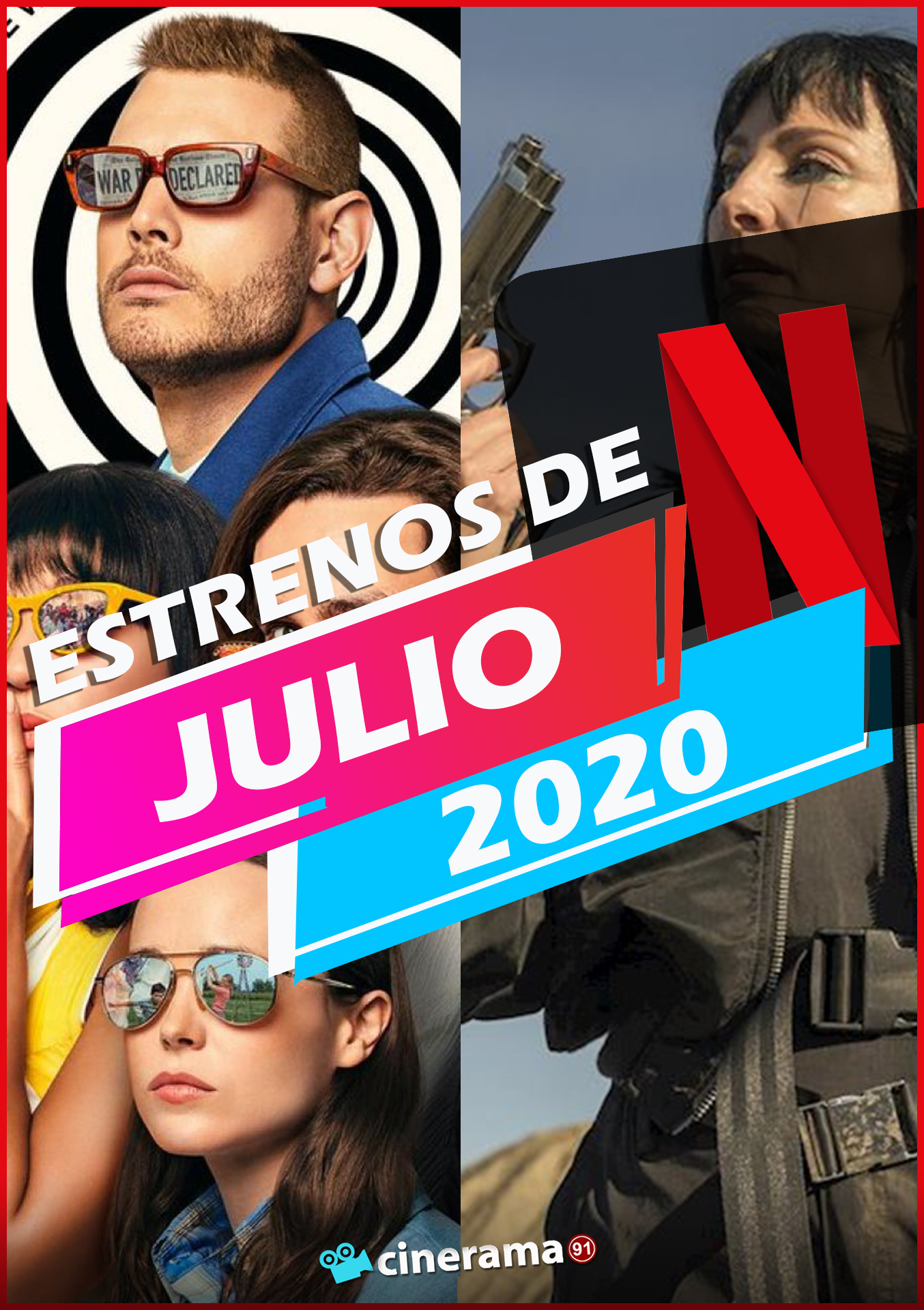 Netflix Julio 2020: Todos los estrenos