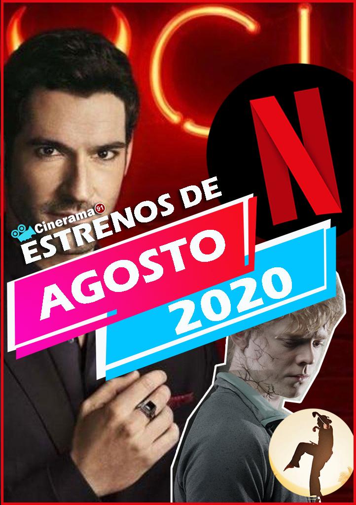Netflix Agosto 2020: Todos los estrenos