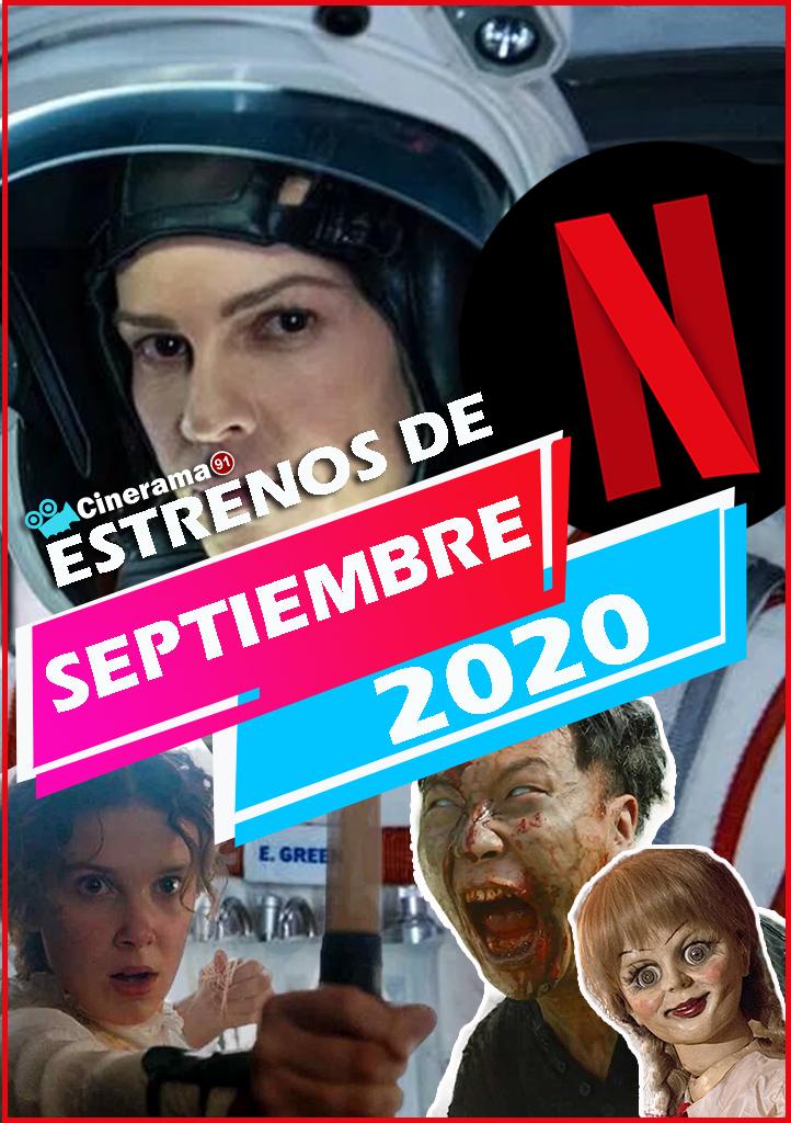 Netflix Septiembre 2020: Todos los estrenos